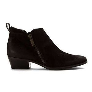 Paul Green Jillian leather zipper ankle boots